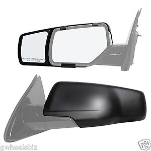 2015 2016 2017 2018 CHEVY SUBURBAN / TAHOE CLIP SNAP ON TOWING MIRROR EXTENSION