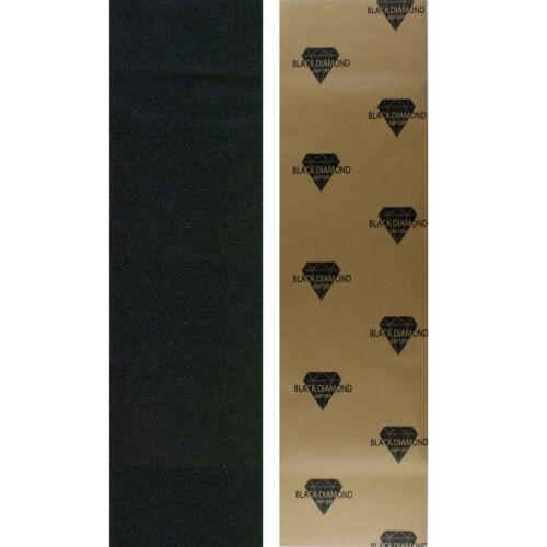 Black Diamond Skateboard Grip Tape Sheet Black 9 in