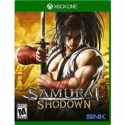 Samurai Shodown Xbox One Brand New Sealed