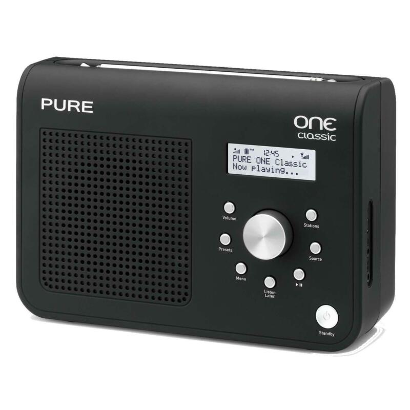 portable dab radio digital radios ebay. Black Bedroom Furniture Sets. Home Design Ideas