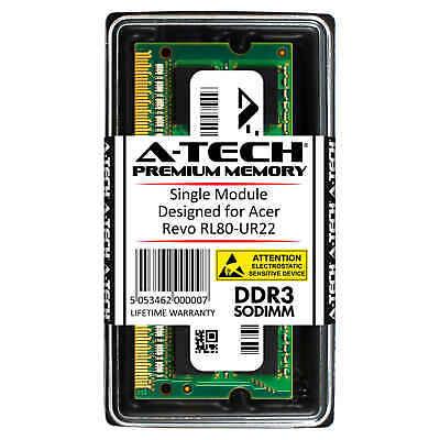 A-Tech 4GB DDR3 1600 MHz PC3-12800 1.35V 2Rx8 Memory RAM for ACER Revo RL80-UR22
