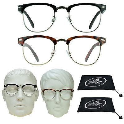 RB Style JFK Clear Reading Glasses Horn Rim Full Lens Reader 1.0 1.5 2.0 3.0 (Jfk Sunglasses)