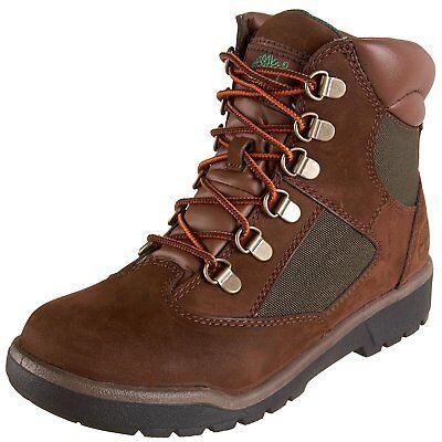 Timberland Grade School Field Boot 6-inch Hiking Boot Brn/ Grn 44992