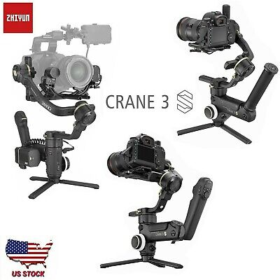 Zhiyun Crane 3S Pro 3SE Gimbal Stabilizer for DSLR Mirroeless Camera Camcorder