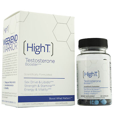High T Testosterone Booster Supplement, 60 Capsules