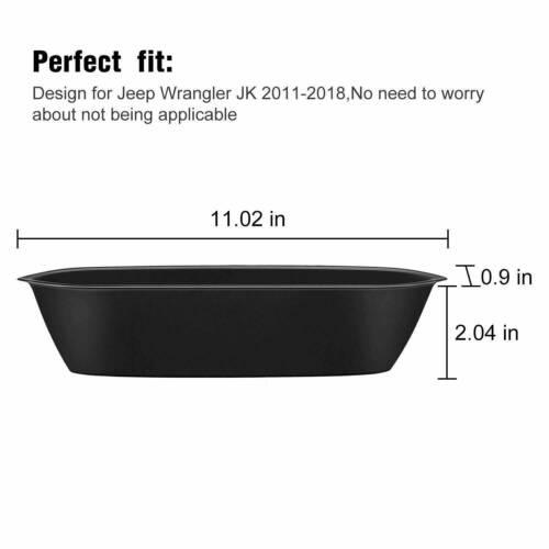 Car Accessories Side Handle Hard Storage Box for 2011-2018 Jeep Wrangler JK