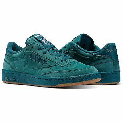 New Originals Men's Classic Sneaker Shoes Reebok Retro Club C 85 SG Green sz