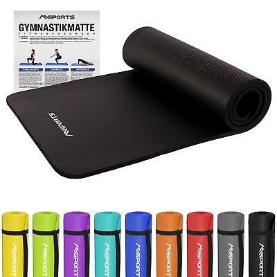 Gymnastikmatte Premium sehr weich - extra dick - 190 x 60 x 1,5 cm -