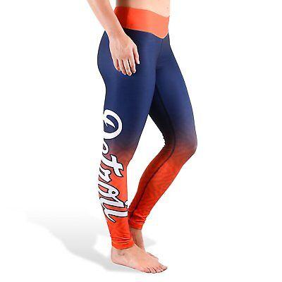 Detroit Tigers Womens Gradient Print Leggings By Klew Tights Yoga Pants