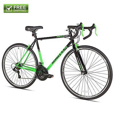 "Kent Road Bike 22.5"" Men's Green Black Steel Frame Sport B"