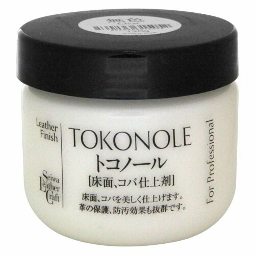 Seiwa Tokonole Leathercraft Tragacanth, Leather Burnishing Gum 120ml clear H&B
