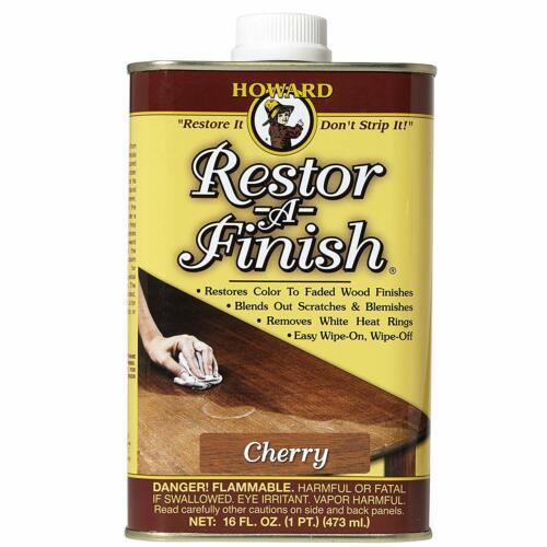 Howard Products RF9016 Restor-A-Finish, 16 oz, Cherry