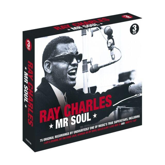 RAY CHARLES - MR.SOUL 3 CD NEU