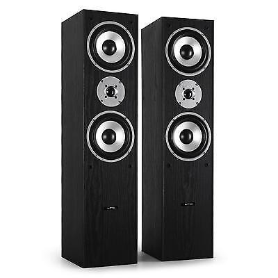 Diffusori Pavimento Casse Altoparlanti Coppia Bass Reflex Hi Fi Stereo 1000 Watt