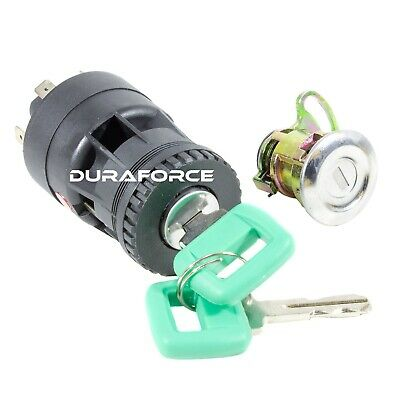 Volvo 15082295 Truck Loader Key Switch Green Laser A20c A30c A25d A30d Ignition
