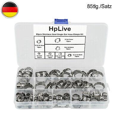 220x Schlauchschellen Sortiment inkl Rack Set Schellen 6-70mm Aufsteller Aktion