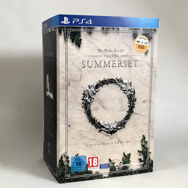 The Elder Scrolls Online: Summerset - Collector's Edition - PS4 *nagelneu*