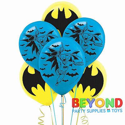 Batman Printed Latex Balloons Party Decoration Supplies - Batman Party Decor