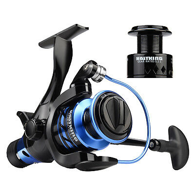 KastKing Pontus Baitfeeder 5000 Spinning Reel Trout Fishing Reel + Free Spool ()