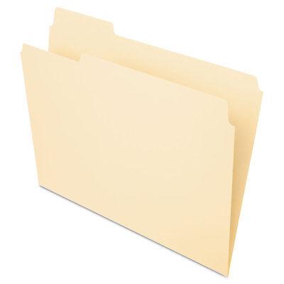 Pendaflex Essentials File Folders 13 Cut Top Tab Letter Manila 100box 75213