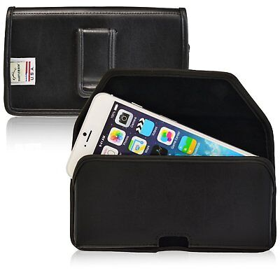 iPhone 6S Holster Black Belt Clip Case Pouch Leather Turtleback