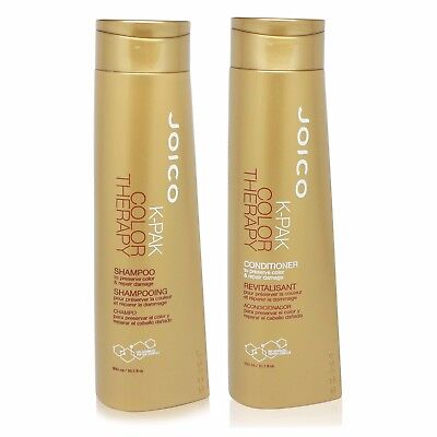 JOICO k-pak color therapy shampoo and conditioner liter duo 33.8 fl oz