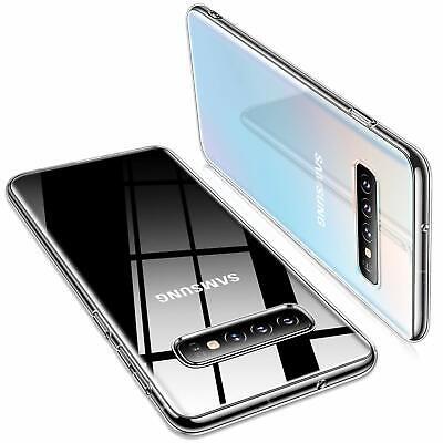 Samsung Galaxy S10 Plus Hülle Schutzhülle Durchsichtig Slim Fit Case Transparent Slim Case