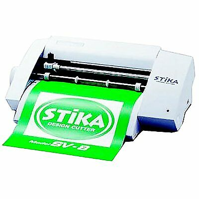 Roland Stika Sv-8 Desion Cutter Create Colorful Custom Stickers From Japan