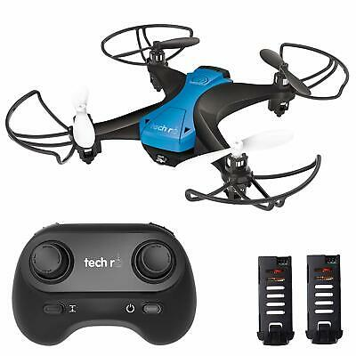Tech RC Drones Mini 30 Mins Fly RC Quadcopter 2.4G with 3 Batteries 3D Flips