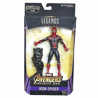 Spider Man   6    Iron Spider Marvel Legends Avengers Infinity War Action Figure