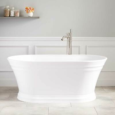 Signature Hardware Odenwald Acrylic Freestanding Bathtub