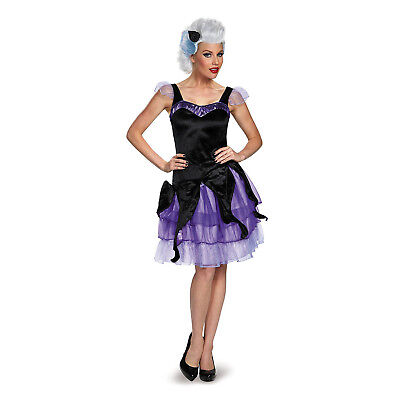 The Little Mermaid Women's Ursula Deluxe Adult Costume | Disguise - The Little Mermaid Costume For Women
