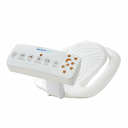 Halo Snoozypod Vibrating Bedtime Soother, Vibration-Night Light-White Noise NEW