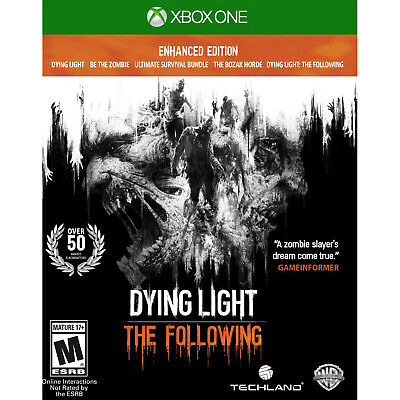 Dying Light  The Following Enhanced Edition Xbox One  Factory Refurbished