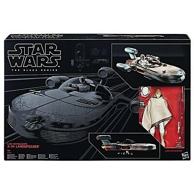 Star Wars The Black Series Luke Skywalkers LandSpeeder X34 with Figure by Hasbro