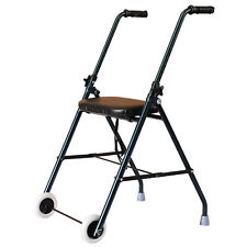 Walker Rollator Wheeled Walking Aid Healthcare Aluminum with Seat