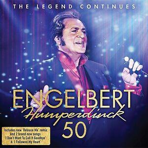 ENGELBERT HUMPERDINCK 50 2-CD ALBUM (New Release May 19th 2017)