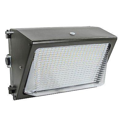 Lights of America 65 Watt Dusk to Dawn LED Wall Pack 6000 Lumens (91465E2-BR5)