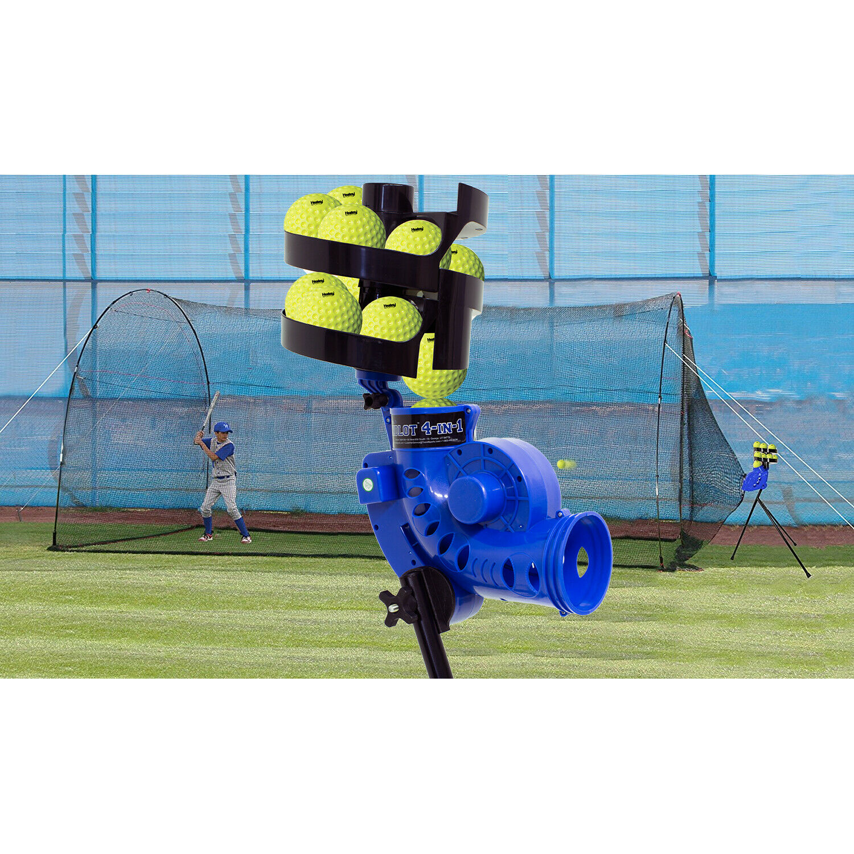HEATER SPORTS Sandlot Batting Cage, Pitching Machine, Ballfe