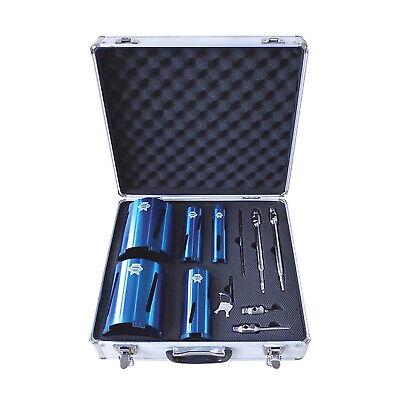 Diamond Core Bit-set (Faithfull Diamond Core Drill Bit Kit Set 11-Piece & Case)