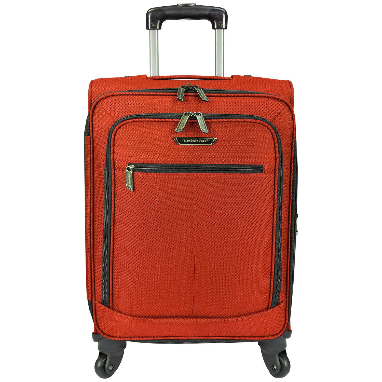 traveler s choice orange 22 carry on
