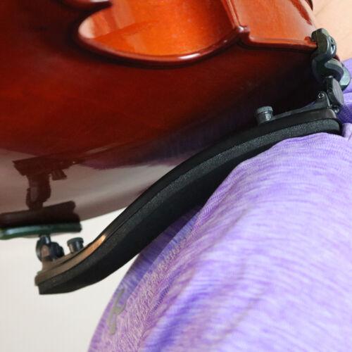 ChromaCast Violin Shoulder Rest Adjustable Pad Support for Violins 3/4 4/4