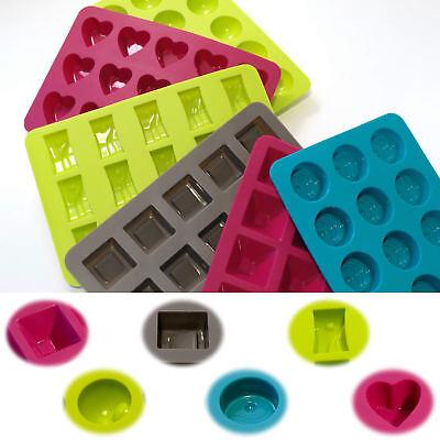 6 Silikon Schokoladenform Pralinenform Backform Set Schokolade Eiswürfelformer