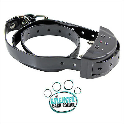 Anti-Bark-Dog-Collar-Shock-Adjustable-Rechargeable-Waterproof-7-NO-BARK- Small