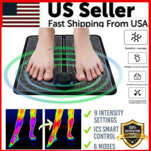 EMS Foot Massager Leg Reshaping Electric Deep Kneading Muscle Pain Relax Machine