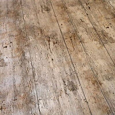VINTAGE BROWN OAK WOODEN PLANK RUSTIC WOOD EFFECT PVC VINYL TABLE CLOTH COVER - Rustic Table Cloth