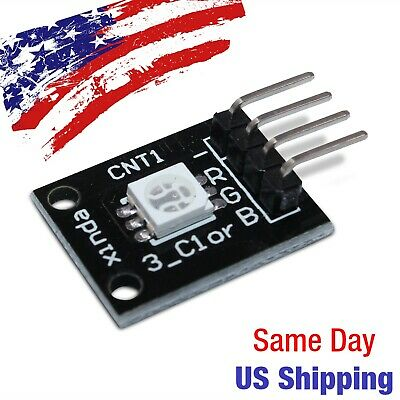 Led Full Color Smd Rgb Module 5050 Arduino Pic Avr 5v Usa Ship Today