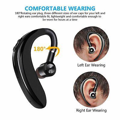 Bluetooth 5.0 Headset Wireless Headphone Earpiece Hands-free Sports Headsets New