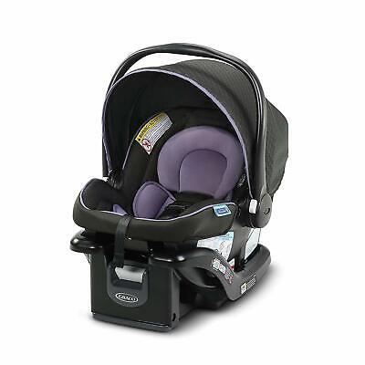 Graco Snugride 35 Lite LX Click Connect Car Seat + Base - Hailey - New Free (Graco Snugride 35 Infant Car Seat Base)