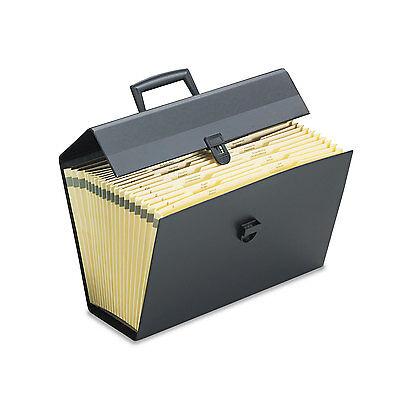 Pendaflex Portafile Letter/Legal Expanding Organizer 19 Pockets Black 01156
